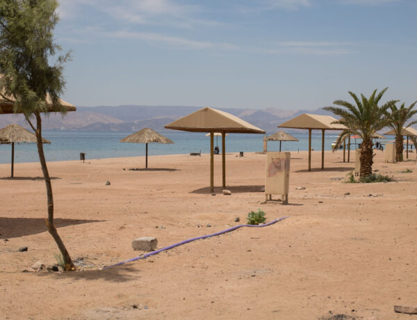 Aqaba, Jordania, ensimmäistä kertaa sukeltamaan