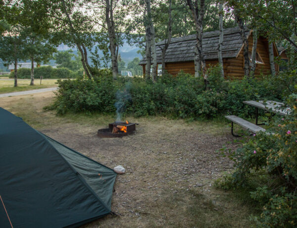 Telttailu Kalliovuorten kansallispuistoissa
